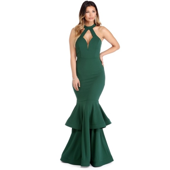 Windsor Dresses | Nwt Emerald Green Gown | Poshmark